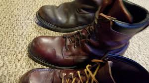 american motorcycle boots a trio of american made redwing boots in 4k short review youtube