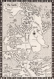 Book Map Map Of The North Resources A Game Of Thrones