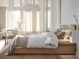 beige and black bedroom stained high gloss finish bed frame