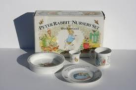 beatrice potter rabbit nursery set wedgwood the nursery