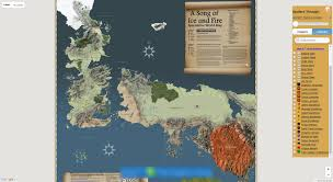Game Of Thrones Google Map Visit Interactive Game Of Thrones Map With Spoilers Control
