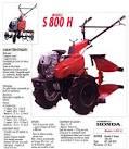 Motoculteur Honda S800H moteur GC 160 cc - Motobineuse - OOGarden ...