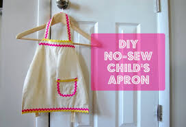 diy no sew child u0027s apron evey u0027s donut party youtube