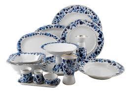 ekaterina s imperial porcelain tea blue bells dinner set 33 pcs