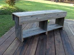 wood bench entry shoe storage wooden bench coffee table tv
