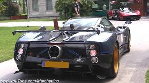 pagani zonda engine pagani zonda tricolore ride pure exhaust note youtube