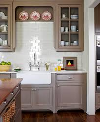 white and taupe lower kitchen cabinets 25 winning kitchen color schemes for a look you ll
