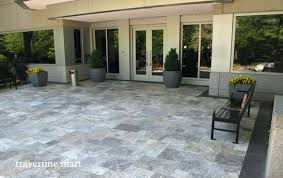 Travertine Patio Travertine Stone Pavers U2013 Affordinsurrates Com