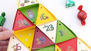 Calendrier De L Avent Fabriquer Un Calendrier De Calendrier De L Avent Sapin De Noël à Fabriquer En Papier Tutoriel