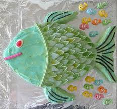 Cake Designs Of Fish Coolest Fish Birthday Cakes Photo Gallery
