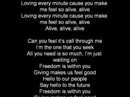 empire of the sun alive lyrics