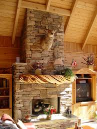 rustic stone fireplaces rustic stone fireplace mantel rustic living room other by