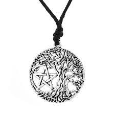 tree of pentacle pendant ace gems