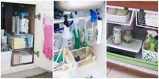 bathroom cabinet organizer ideas the sink organization bathroom and kitchen organizing tips