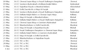 2016 ipl match list pepsi ipl 2014 match schedule blogging republic