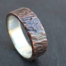 wood mens wedding bands buy a custom made viking wedding band mens promise ring or unique