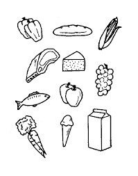 printable food coloring pages coloring me