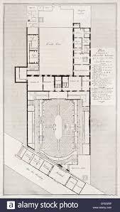Palace Of Versailles Floor Plan Hotel Des Menus Plaisirs Old Plan Versailles Stock Photo Royalty