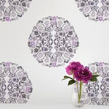Contemporary Wallpaper Kreme Life Muse Collection Floral Confetti Contemporary Wallpaper