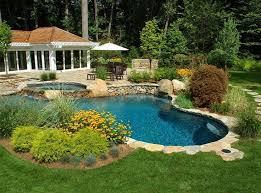 Backyard Pool Landscape Ideas Best 25 Backyard Pool Landscaping Ideas On Pinterest Pool Ideas