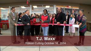of romeoville ribbon cutting 2014 t j maxx