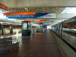 Atlanta Airport Map Delta by Airport Marta Station U2013 Marta Guide