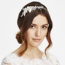 headband online jon richard online exclusive flower and leaf side headband