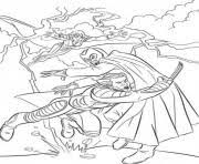 men cyclops running coloring pages printable