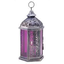 enchanted fuschia decorative candle lantern home decor heaven