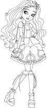 free printable ever after high coloring pages cedar wood ever