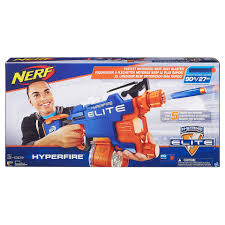 nerf battle racer nerf n strike elite hyperfire blaster the entertainer the
