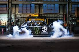 hoonigan mustang gymkhana 7 ken block tears up los angeles in monster mustang la