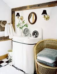 Easy Bathroom Makeover - hide ugly pipes easy bathroom makeover lonny