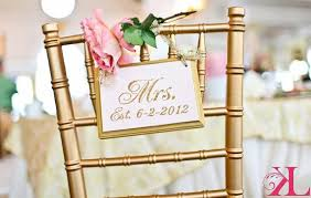 wedding chair signs sparkling gold wedding signs mr and mrs wedding chair signs