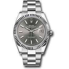 bracelet oyster rolex images Rolex datejust ii steel and white gold black dial 41mm jpg