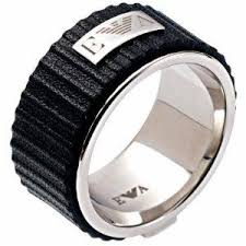 just men rings emporio armani jewelry men s herren ring