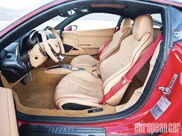 Ferrari 458 Italia Interior - oakley design ferrari 458 italia european car magazine