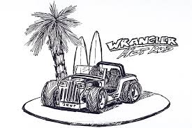 cartoon jeep drawings category yj sebastian motsch