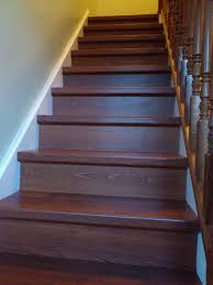 Staircase Renovation Ideas Laminate Wood Stairs 3336