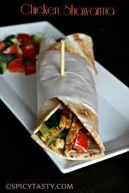 arabic wrap how to make chicken shawarma spicy tasty