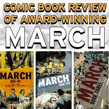 march book two march graphic novel review