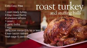 easy turkey stuffing recipes for thanksgiving slimming world roast turkey and stuffing balls youtube
