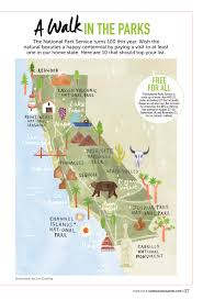 California National Parks images Livi gosling map of california national parks california jpg