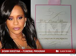 Pictures For Funeral Programs Bobbi Kristina Funeral Ends With Send Off From Whitney Houston