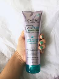 Deep Conditioner For Color Treated Hair L U0027oreal Everpure Hair Care System I Think It U0027s Ashley