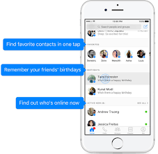 facebook messenger gets a big update with a new design and a home