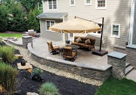 Patios Designs Exquisite Backyard Designs On Deck Patio For Children Ancient