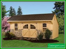 Backyard Shed Kit Woodworking Arrow Shed Woodridge 8 X 6 Ft Steel Storage Shed From