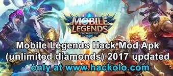 mod apk get mobile legends unlimited diamonds mod apk updated hacks
