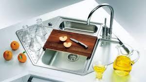 corner kitchen sink unit 15 cool corner kitchen sink designs home design lover modern sinks 6